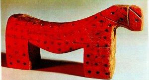 jouet de bois russe